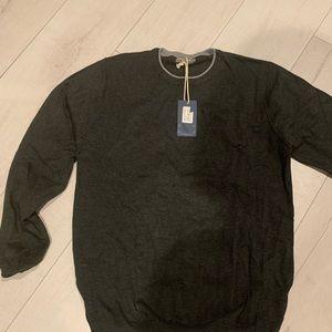 Viscosa soft  Italian sweater grey never worn